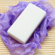 White lavender soap — Stock Photo