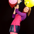 Royalty-Free Stock Photo: Girl with balloon