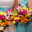 Bridal Flowers - Stock Photo