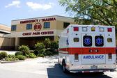 Ambulance At ER — Stock Photo
