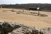 Ancient Amphitheater Caesarea Maritima, — Stock Photo