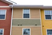 Apartment Facade Design — Stock Photo