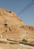 Cable Car to Masada, Israel — Stock Photo
