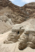 Caves of the Dead Sea Scrolls — Stock Photo