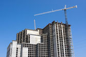 Condo Under Construction — Stock Photo