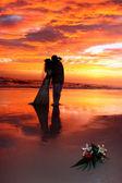 Sunset Kiss — Stock Photo