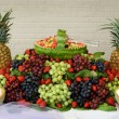 Stock Photo: Display of Fruits