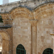 Eastern Gate Old City Wall of Jerusalem — Stock Photo #1411940