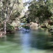Jordan River, Israel - Stock Photo
