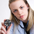 Nurse With Stethoscope — Stock Photo #1413788