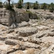 Ruins At Tel Megiddo, Israel — Stock Photo