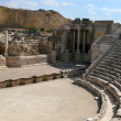 Ancient Ruins Theatre of Beth-Shean - Stock Photo