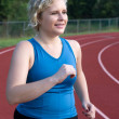 Running To Lose Weight — Stock Photo