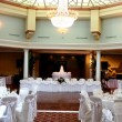 Wedding Reception Hall — Stock Photo