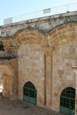 Eastern Gate Old City Wall of Jerusalem — Stock Photo