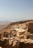 Fortress of Masada, Israel — Stock Photo