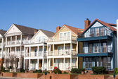 High End Townhouses, Mud Island, Memphis — Stock Photo