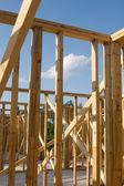 Construcción de viviendas — Foto de Stock