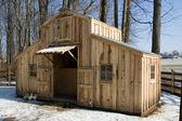 Homemade Barn — Stock Photo