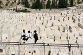 Jewish Graveyard, Jerusalem — Stock Photo