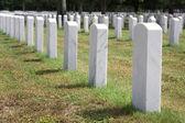 Wojskowych nagrobków — Zdjęcie stockowe