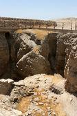 Ruins Of Ancient Jericho, Israel — Stock Photo