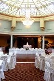 Wedding Reception Hall — Stock Photo