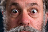 Wild Eyed Man — Stock Photo