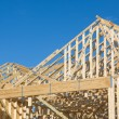 Stock Photo: Truss Roof Construction