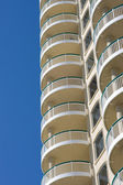 Terraces Of Modern Condominium — Stock Photo