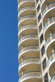 Terraces Of Modern Condominium — Stock Photo