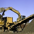 Landfill Screener - Stock Photo