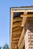 Home Soffit Framing — Stock Photo