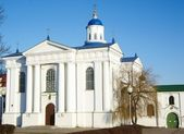 Uspensky Church Zhirovichy Belarus — Stock Photo