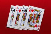Cuatro reyes — Foto de Stock