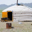 Mongoliyurtin steppe — Stock Photo #1396522