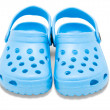 Royalty-Free Stock Photo: Childrens rubber sandals