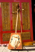 Mongolian folk stringed instrument — Stock Photo