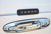 Car combination lock — Stock Photo