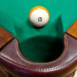 Stock Photo: Billiard ball N thirteen