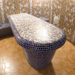 Royalty-Free Stock Photo: Spa mosaic table