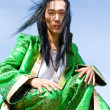 Man in Mongolian costume — Stock Photo #1406845