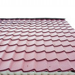 Corrugated roof — Stock Photo