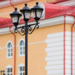 Forged street lamp — Stock Photo #1407471