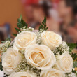 Stock Photo: Brides bouquet