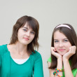 Beautiful girls - Stock Photo