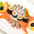 Rolls with fish - Photo