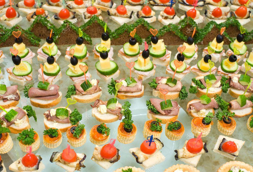 Мясные бутерброды на праздничный стол рецепты