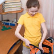 Getting ready for school - Stock Photo