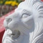 Stone lions head — Stock Photo #1425630
